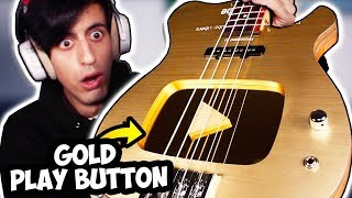 I Built a BASS Out of my YouTube Gold Play Button