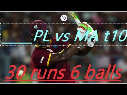 Carlos Brathwaite Did it again and Panjabi Legends qualified for semi finals t10