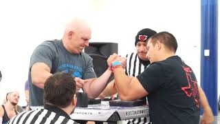 2018 Branch Warren Classic Armwrestling Championship Open 177+ and other Classes