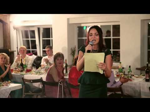 Рэп от подруги (для невесты) - Видео приколы смотреть