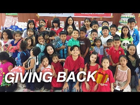HOW I CELEBRATED MY BIRTHDAY WITH 100 KIDS **GIVING BACK**