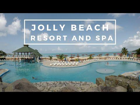 Antigua - part 2 : Starfish Jolly Beach Resort Walkthrough (4K)