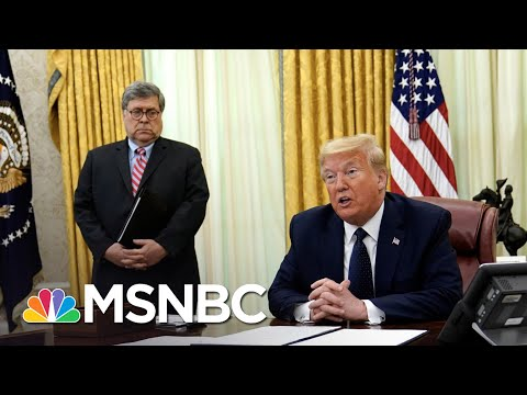 Barr Won't Back Trump Election Attacks As Pardon Probe Hits West Wing | The 11th Hour | MSNBC