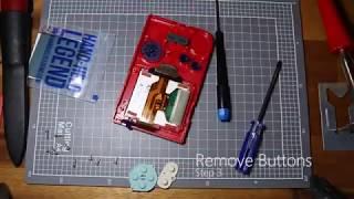 How to Backlight a Gameboy Pocket (Handheld Legend V3)