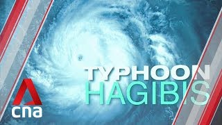 Typhoon Hagibis set to hit Japan