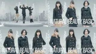 NATURAL BEAUTY BASIC × Perfume のCMを4個合成してみた