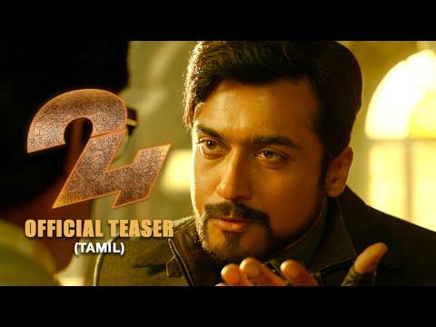 24 Official Teaser Tamil | Suriya,...