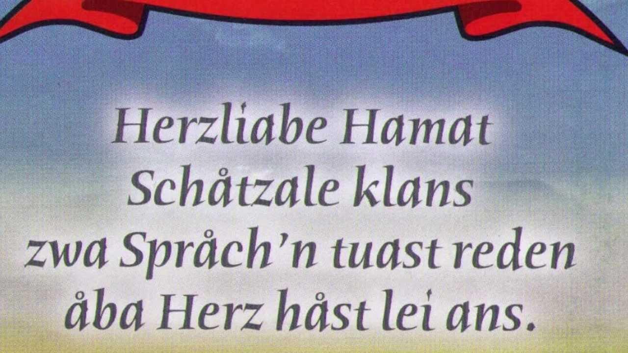 Kärntner Dialekt