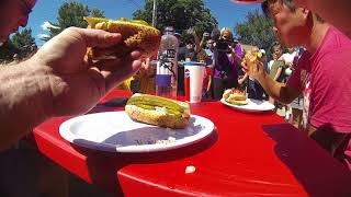 Twin Cities Police vs. Firefighters Hot Dog Eating Contest