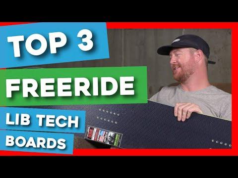 Top 3 Freeride Lib Tech Snowboards Of 2020