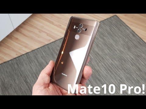 Huawei Mate 10 Pro Unboxing! mein zweiter Eindruck | deutsch