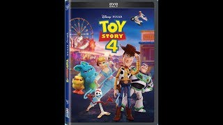 Opening/Closing to Toy Story 4 2019 DVD
