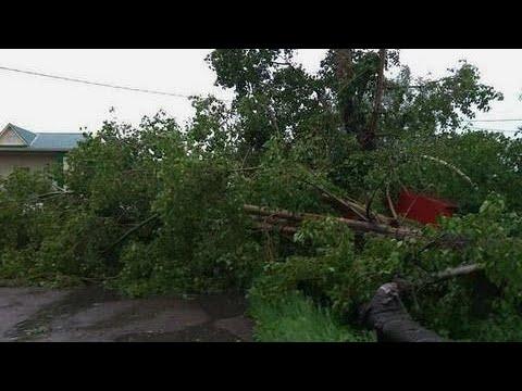Сдуло целую деревню. Последствия урагана в Сибири