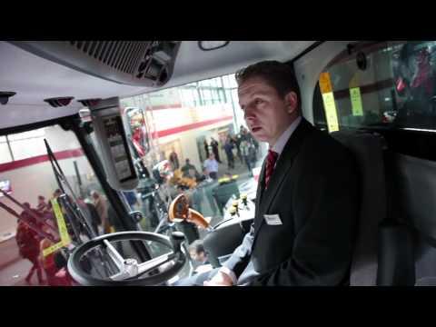 MF Activa S Combine Walk-around With Martin Lichtenstern - Day Six, Agritechnica 2011 (Deutsch)