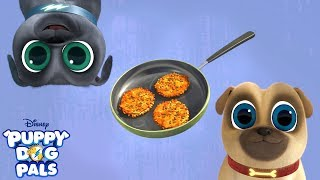 Gotta Make the Latkes | Music Video | Puppy Dog Pals | Disney Junior