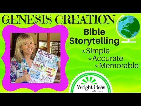 GENESIS CREATION - Teaching children using Bible Storytelling S.A.M. method | CHILDREN'S MINISTRY