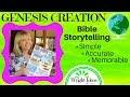 GENESIS CREATION  (Bible Storytelling) Genesis Chapter 1