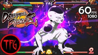 Dragon Ball FighterZ (Beta) - 5 Online Matches! Gameplay by FYagami (60fps/1080) 🌠