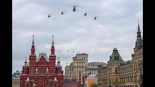 特殊时期也要阅兵:75架军机飞越红场,俄罗斯为啥如此钟情阅兵