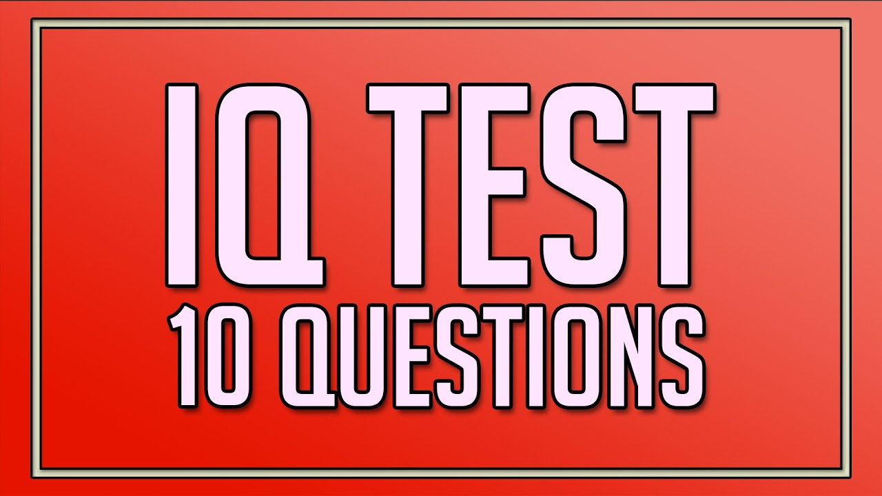 Iq Test For 6th Graders Free
