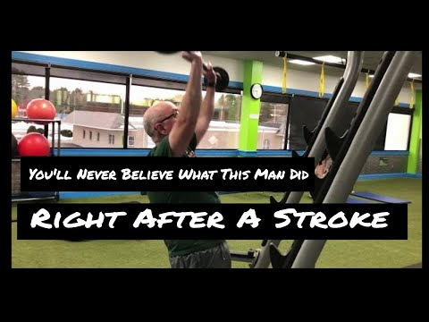 You'll Never Believe What This Man Did Right After A Stroke