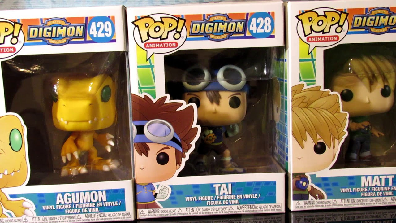 79dca0f44de New! Digimon Funko Pop Unboxing review - YouTube