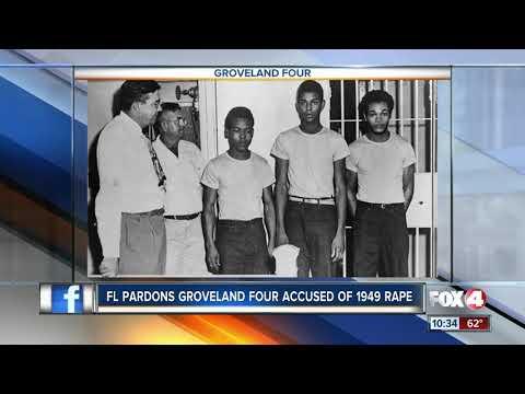 Groveland four pardoned