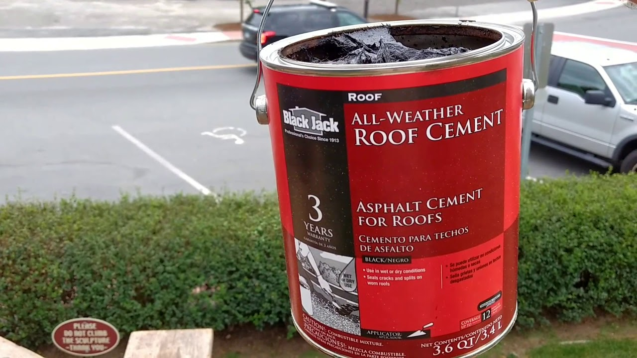 How To Repair A Carving With Great Stuff And Roofing Cement!