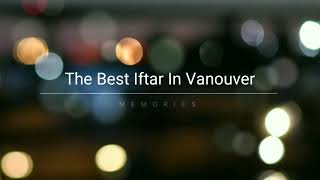 Iftar dinner in Richmond BC - Yemen Canadian Society