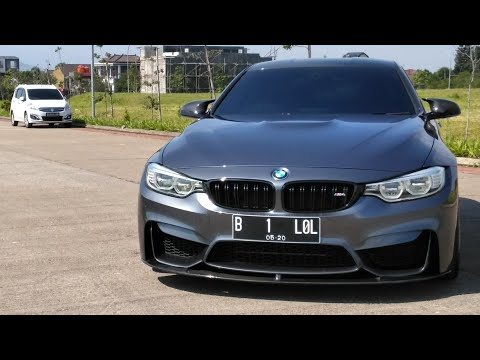 BMW M4 Coupé [F82] Start Up & Review Indonesia