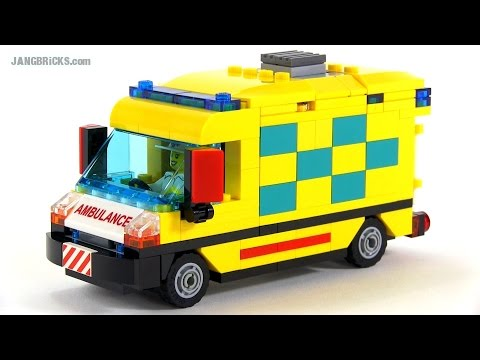 Lego city custom ambulance moc youtube - Lego ambulance ...