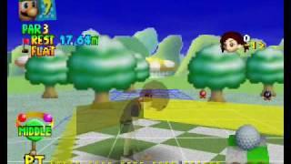 Mario Golf TAS, 18 Hole in Ones