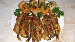 Закуска из мойвы ПАЛЬЧИКИ ОБЛИЖЕШЬ. Как вкусно приготовить рыбу с овощами в духовке