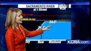 Sacramento-Area Rivers Rising