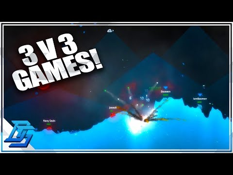FIRST 3 V 3 FAN MATCH, Team DemoDaxBoom ! - Shellshock Live (Multiplayer)