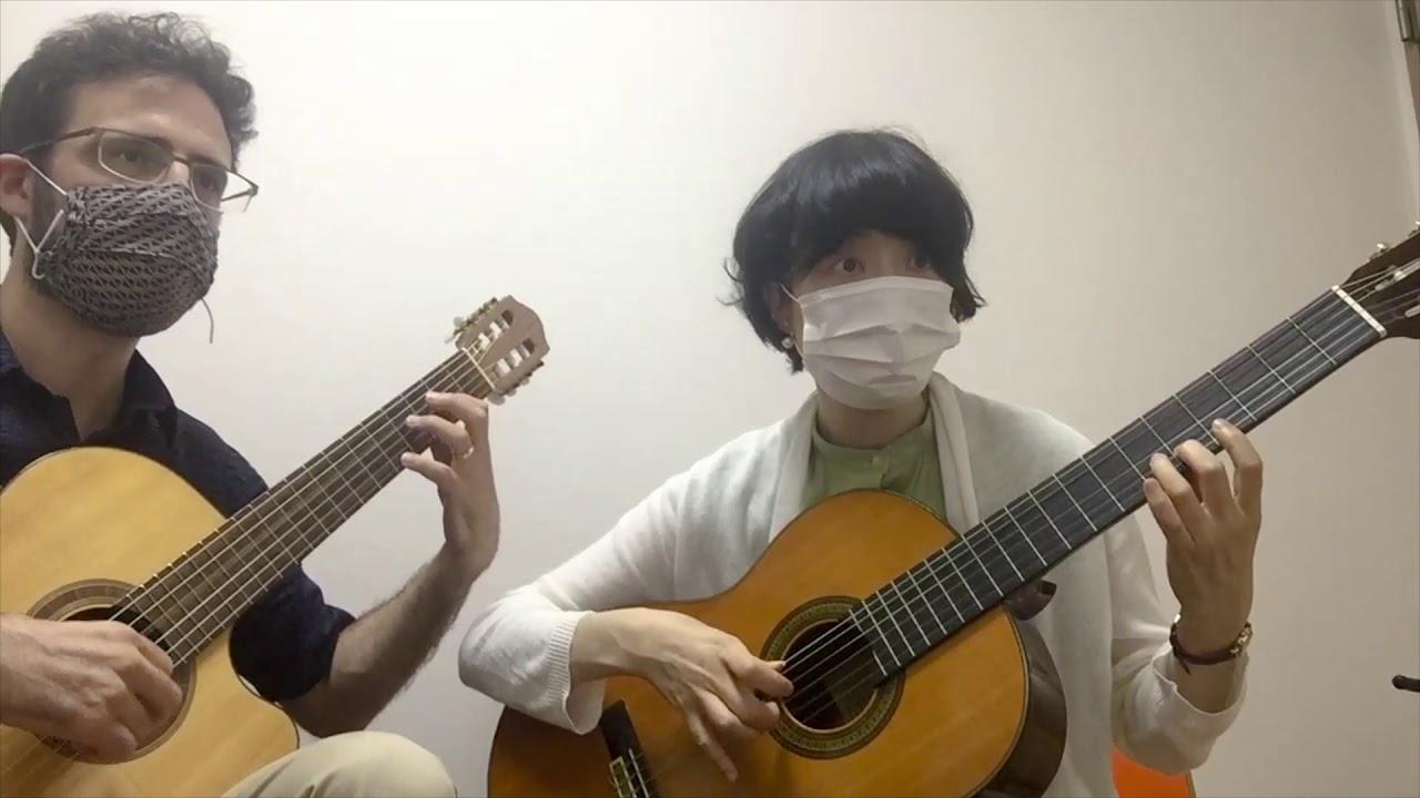 """Renaissance Guitar Duet: """"Flow My Tears"""""""