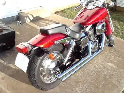 2006 honda shadow spirit 750 cobra pipes youtube. Black Bedroom Furniture Sets. Home Design Ideas