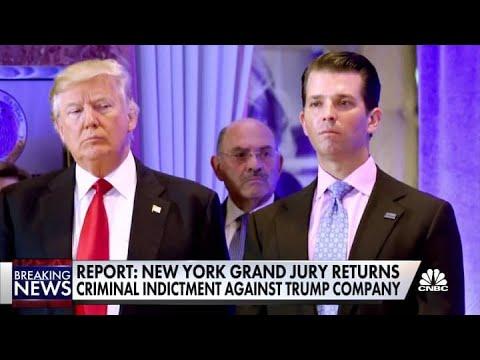 Grand jury indicts Trump Organization, company's CFO, Allen ...
