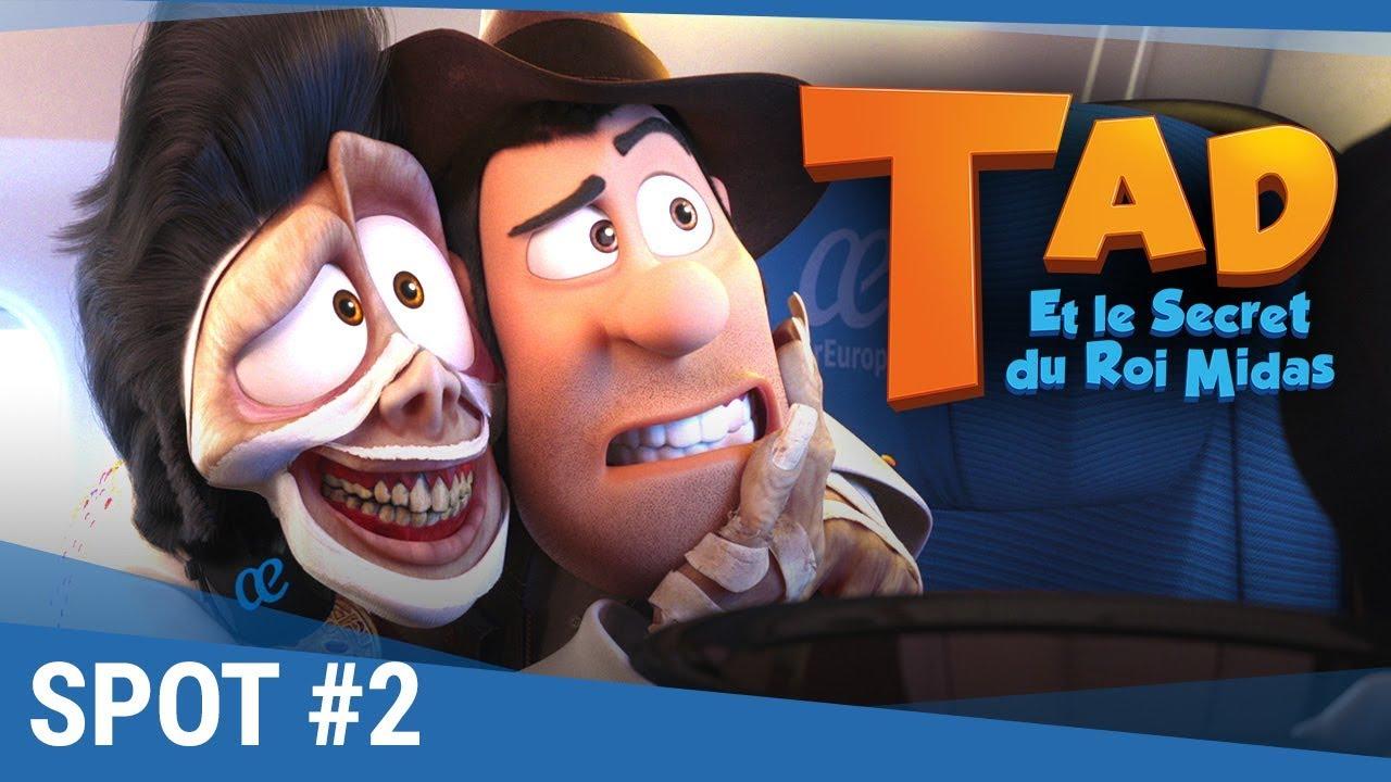 """TAD Et Le Secret Du Roi Midas - Spot """"Héros"""" VF [actuellement au cinéma]"""