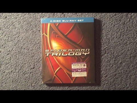 Unboxing Spider-Man Trilogy Blu-Ray/Digital HD