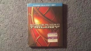Unboxing Spider-Man Trilogy Blu-Ray/Digital HD