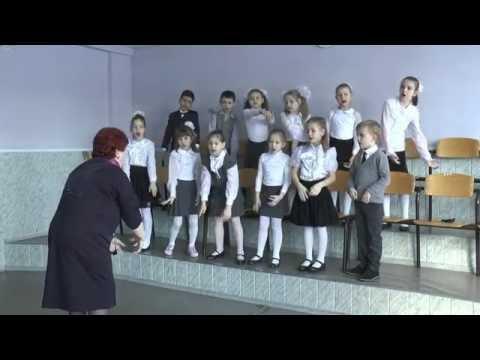 Видео урок по хору с младшим хором