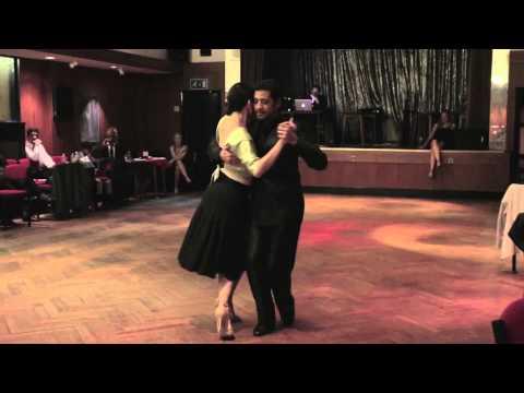 Adrian y Amanda Costa, tango EL GARAGE ZARAGOZA   Doovi