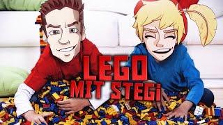Lego spielen mit Stegi und Kevin. 😍