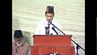 Jalsa Salana Mauritius 2011 - Session 4 - Tilawat, Nazm and Speech