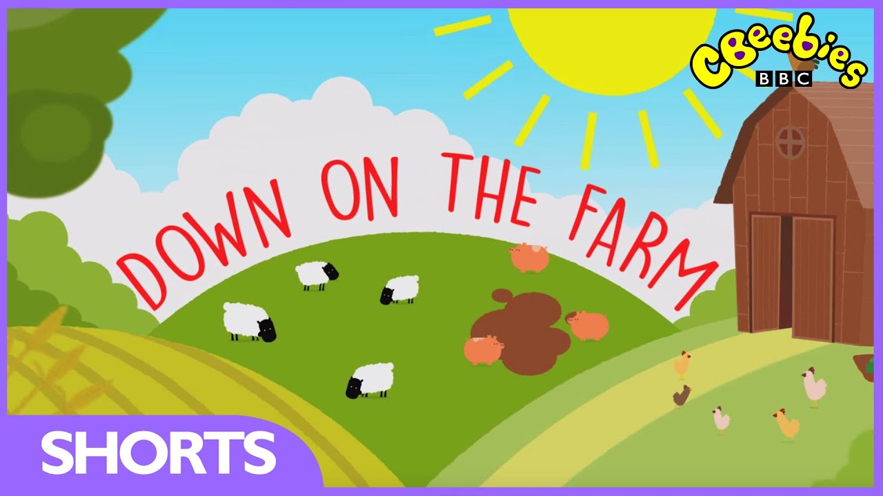 CBeebies: Down On The Farm Trail - YouTube