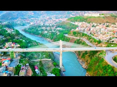 🏞Muzaffarabad | Capital Of Azad Kashmir | Footage With Drone 2018
