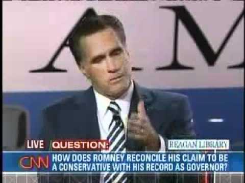 Mitt Romney on His Conservative Health Care Plan
