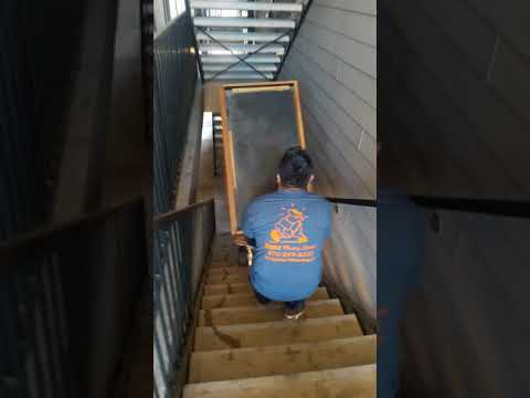 How To Move A Heavy Piece Of Furniture Downstairs