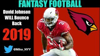 David Johnson Should Be a Top-5 Fantasy Pick in 2019